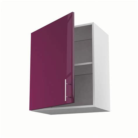 leroy merlin porte de cuisine meuble de cuisine haut violet 1 porte h70xl60xp35 cm