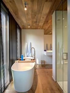 la salle de bain avec parquet ou les meilleures With porte de douche coulissante avec parquet stratifié salle de bain