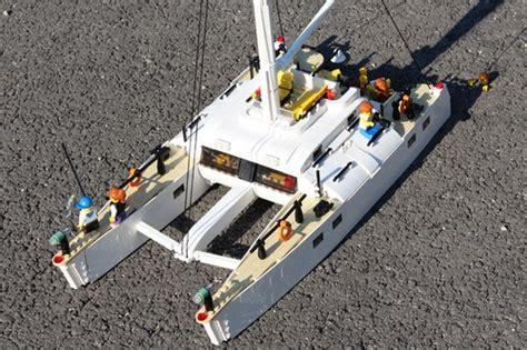 catamaran sailboat lego town eurobricks forums