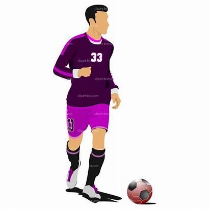 Soccer Player Clipart Players Clip Football Clipartpanda