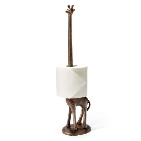 giraffe paper towel toilet paper holder the green
