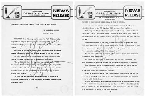 Do Records Show Proof of UFOs?   National Archives