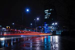 Free, Images, Metropolitan, Area, Night, Reflection, Urban, Area, City, Metropolis, Cityscape