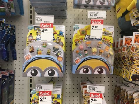 despicable  mineez  pack   reg