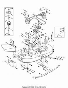 Troy Bilt 13an77kg011 Pony  2009  Parts Diagram For Mower