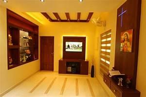 Flat, Interior, Design, Kerala