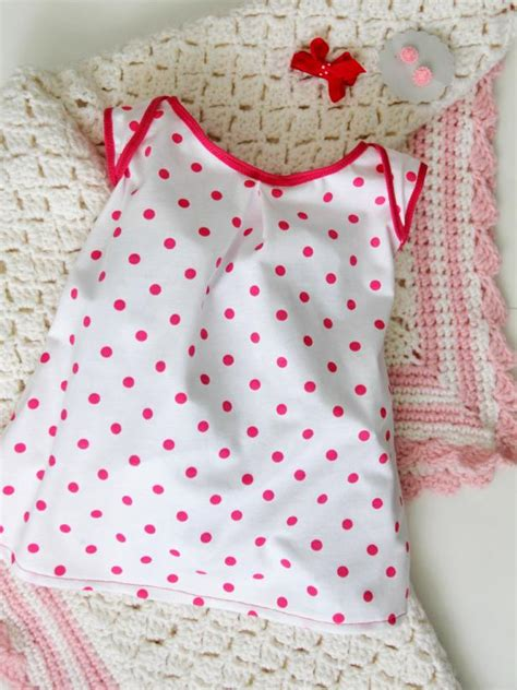 sew  knit baby dress   pattern  tos diy