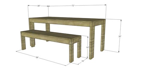 west elm bench table free plans to build a west elm inspired boerum dining
