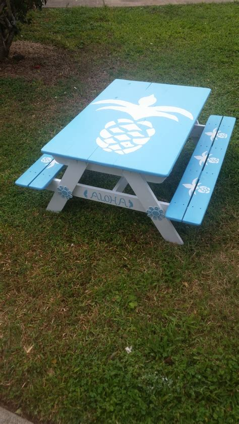 ana white toddlerchildrens picnic table diy projects