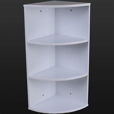 White Wall Shelf Unit by Bathroom Corner Shelving Storage Unit Wooden Shelves White
