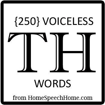 voiceless  words phrases sentences paragraphs