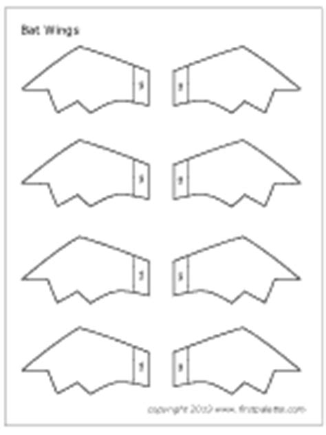 bat wing template bat wings printable templates coloring pages firstpalette