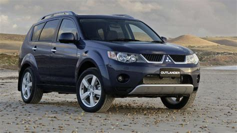 Mitsubishi Outlander 2006 by Used Mitsubishi Outlander Review 2006 2009 Carsguide