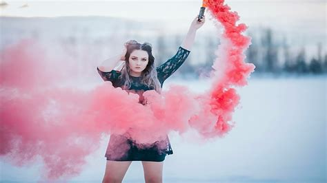 alaska photographer model collaboration  smoke