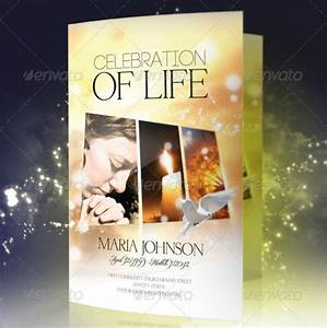 Funeral program brochure templates download free for Celebration of life program template