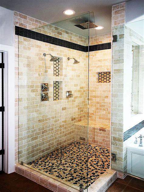 walk  shower  master bath roxton custom home remodeling