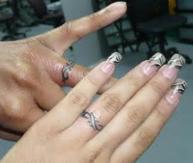 wedding ring tattoos designs ideas and meaning tattoos for you - Wedding Ring Finger Tattoos