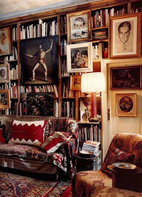 home interior book 10 stunning vintage home libraries