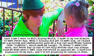 Spieling Peter quote   Peter Pan Disney World Tumblr ...