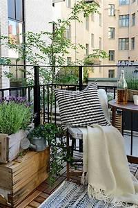 Amenager Petit Balcon Appartement : 10 id es pour am nager un balcon petits balcons balcons ~ Zukunftsfamilie.com Idées de Décoration