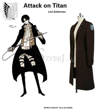 attack on titan levi cosplay outfit