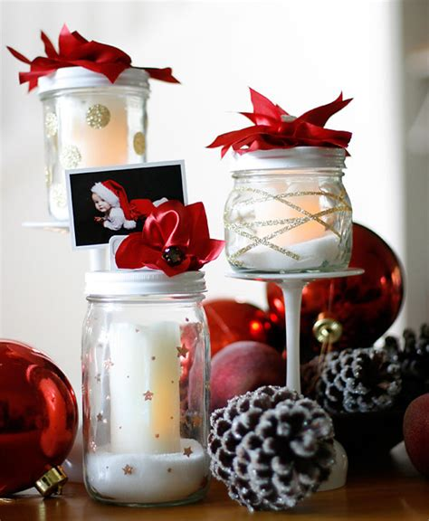 Christmas Decorating With Mason Jars  All About Christmas