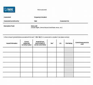 chemical risk assessment template - chemical risk assessment template free template design