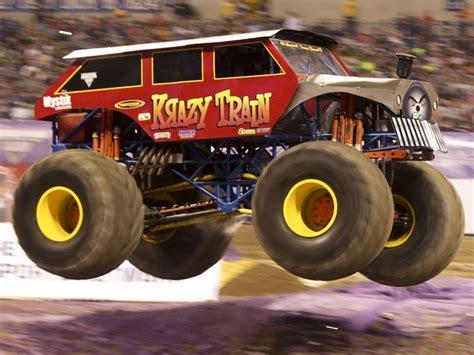 Monster Jam Trucks At Lucas Oil Stadium