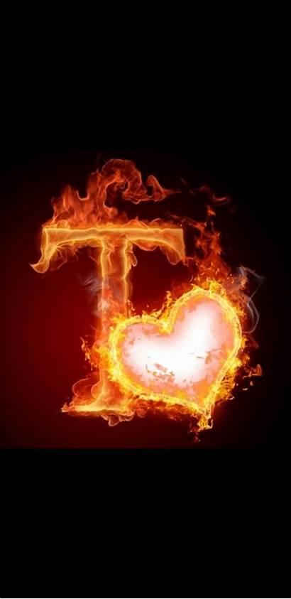 Letter Fire Letters Alphabet Flaming Alphabets