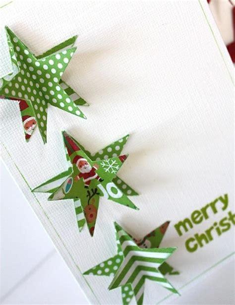 Schöne Weihnachtskarten Selber Basteln  Mehr Als 100
