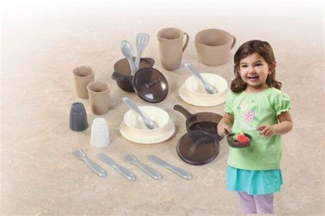 Kitchen Set Pretend Play Step2 LifeStyle Dining Room Pots