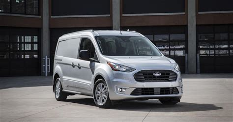 ford transit connect cargo van works  crowd