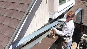 Installing Roof To Wall Flashing