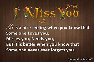 Family Quotes M... Miss Some1 Quotes