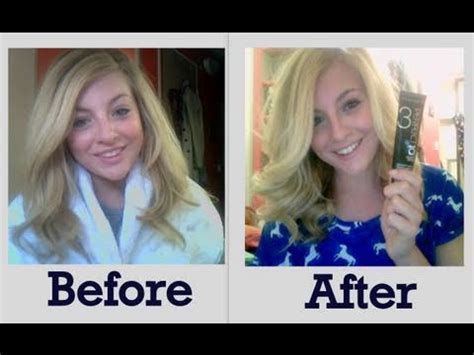 clairol perfect  lightest blonde hair color tutorial