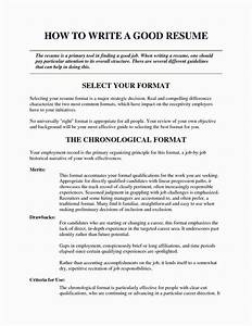 really good resume examples oursearchworldcom With examples of really good resumes