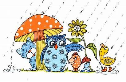 April Showers Clipart Newsletter Clip Spring Preschool