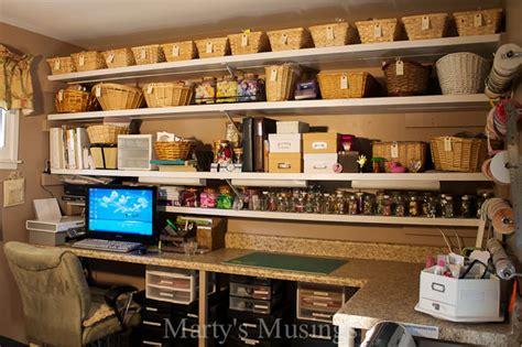 Craft Room Design Ideas For Better Organization