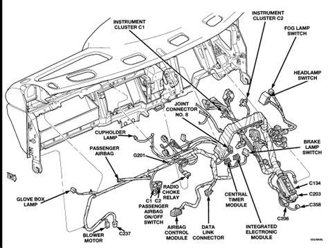 Dashboard Of 2000 Dodge Dakotum Wiring Diagram by Just Did A Heater On 2000 Dodge Ram 1500