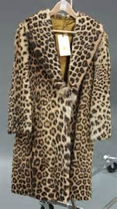 Real Leopard Fur Coat