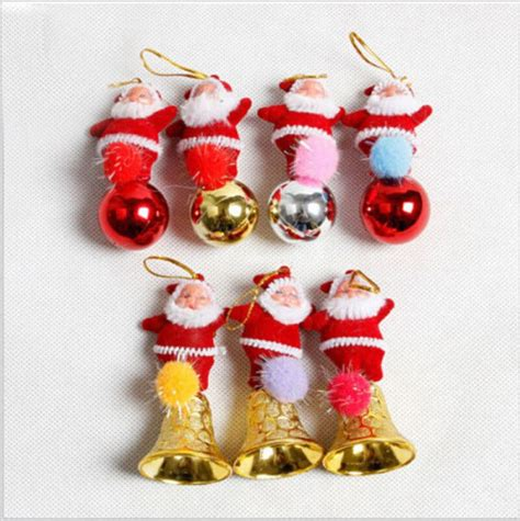 pcs christmas decorations  home  silver plated