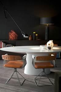 Table Cuisine Blanche : la plus originale table de cuisine ronde en 56 photos ~ Teatrodelosmanantiales.com Idées de Décoration