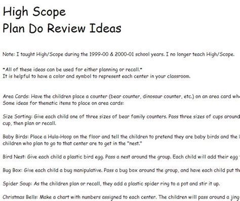 high scope preschool 9 best highscope s ideas from the field images on 733