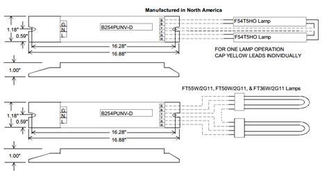 Universal Accustart Bpunv Lamp Ftho Electronic