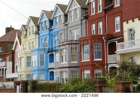Row Of English Houses Stock Photo & Stock Images Bigstock