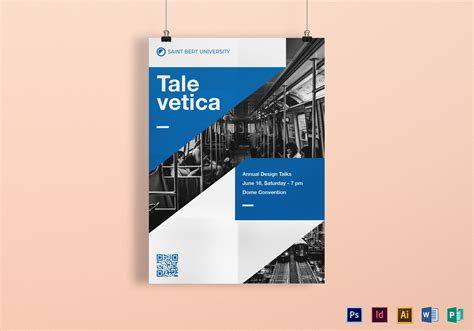 graphic design poster template  psd word publisher