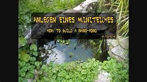 Miniteich Anlegen Zinkwanne : anlegen eines mini teiches how to build a nano pond youtube ~ A.2002-acura-tl-radio.info Haus und Dekorationen