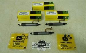 John Deere 855 Compact Tractor Engine Injector Set