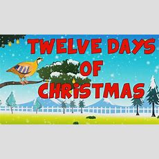 12 Dias De Navidad En Ingles  12 Days Of Christmas In English Youtube