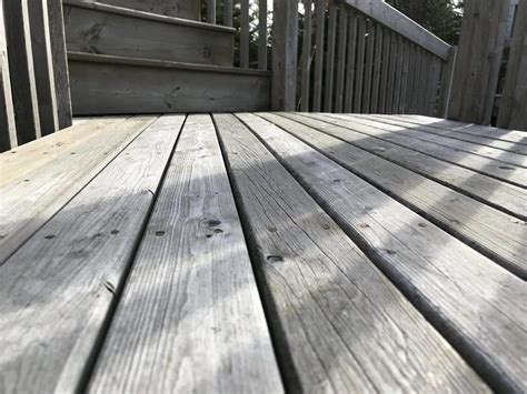 deck wood sprayed lifetime stain treatment brad  painter